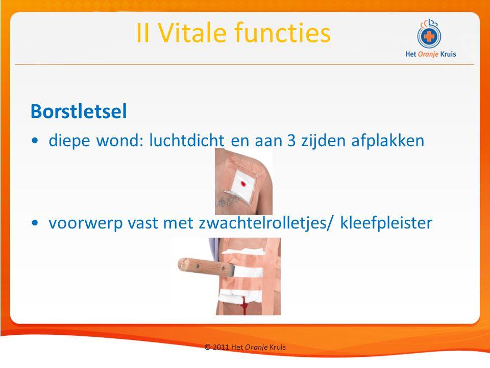 II Vitale functies Borstletsel