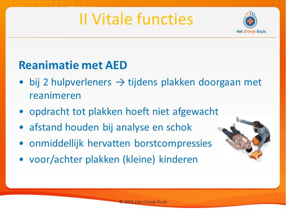II Vitale functies Reanimatie met AED
