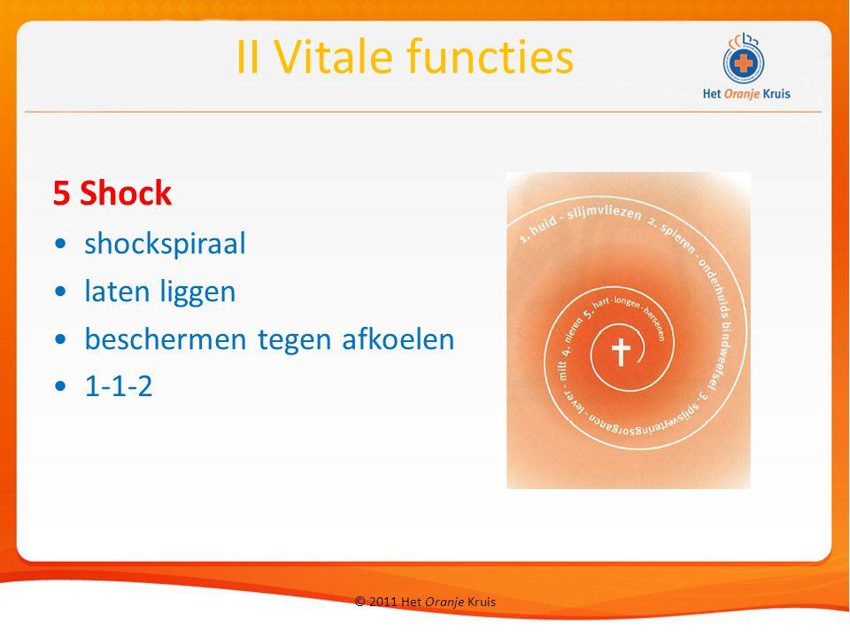 5 Shock shockspiraal laten liggen beschermen tegen afkoelen 1-1-2