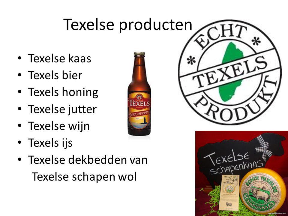 Texelse producten Texelse kaas Texels bier Texels honing