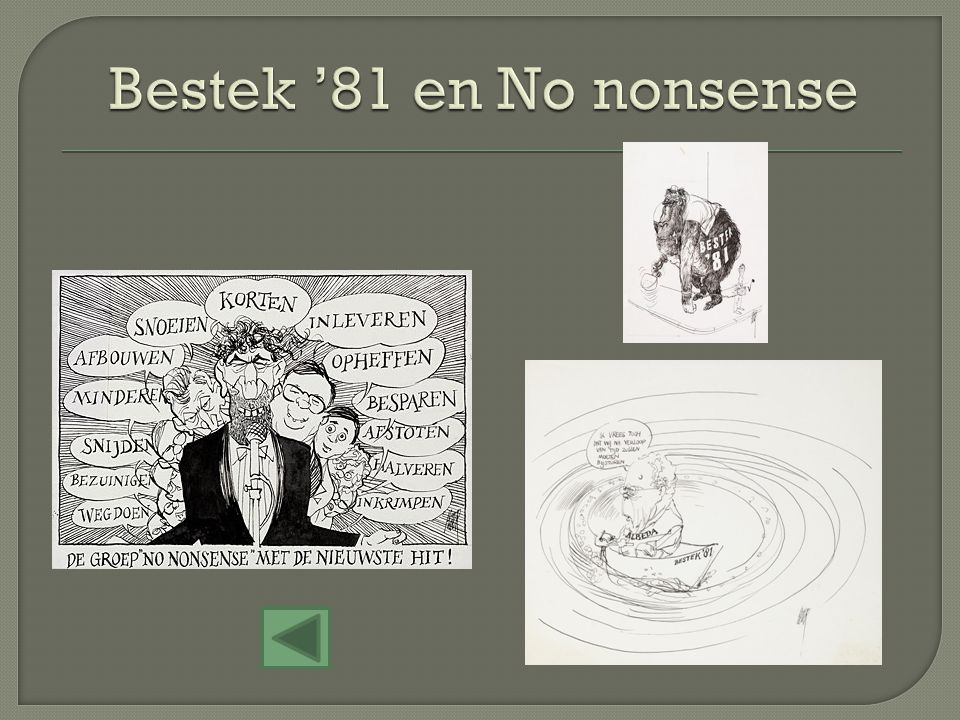Bestek '81 en No nonsense
