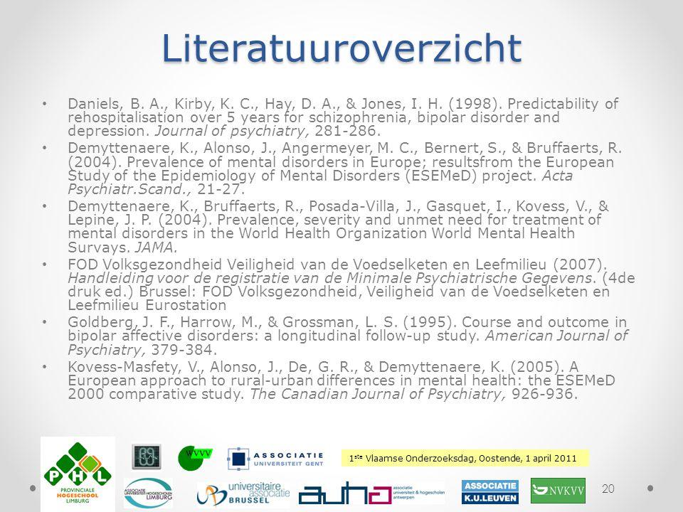 Literatuuroverzicht
