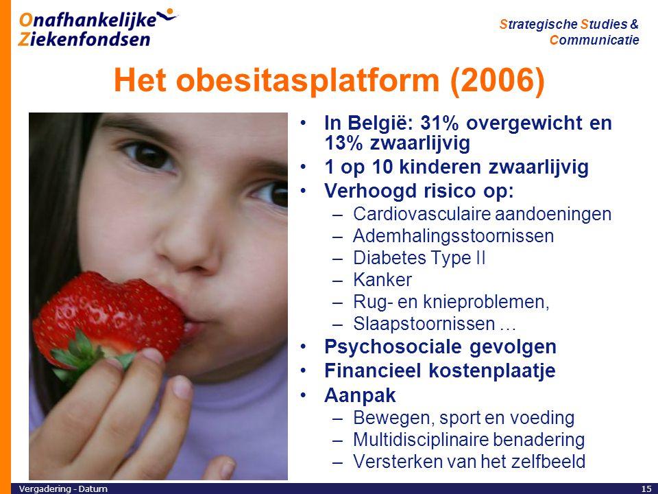Het obesitasplatform (2006)