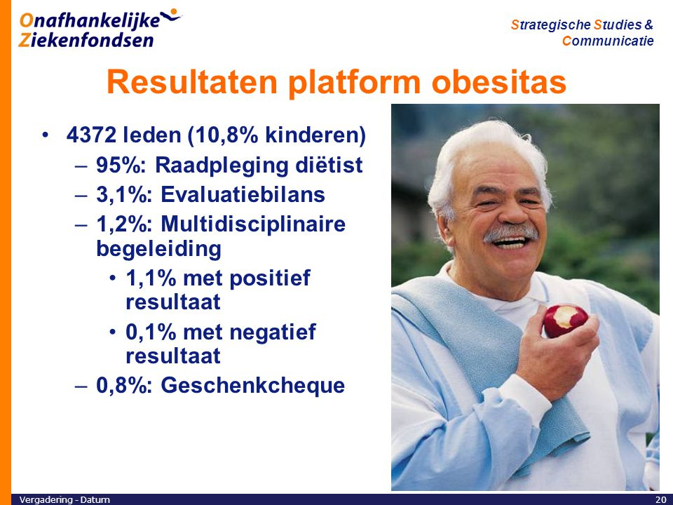 Resultaten platform obesitas
