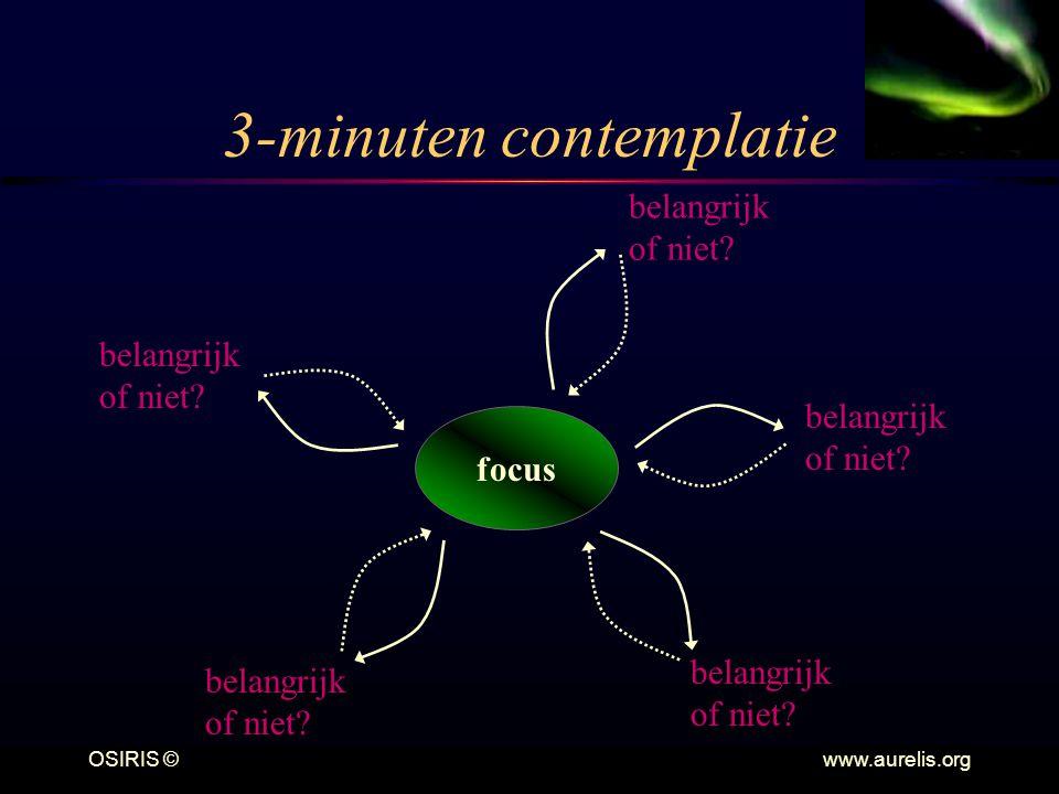 3-minuten contemplatie