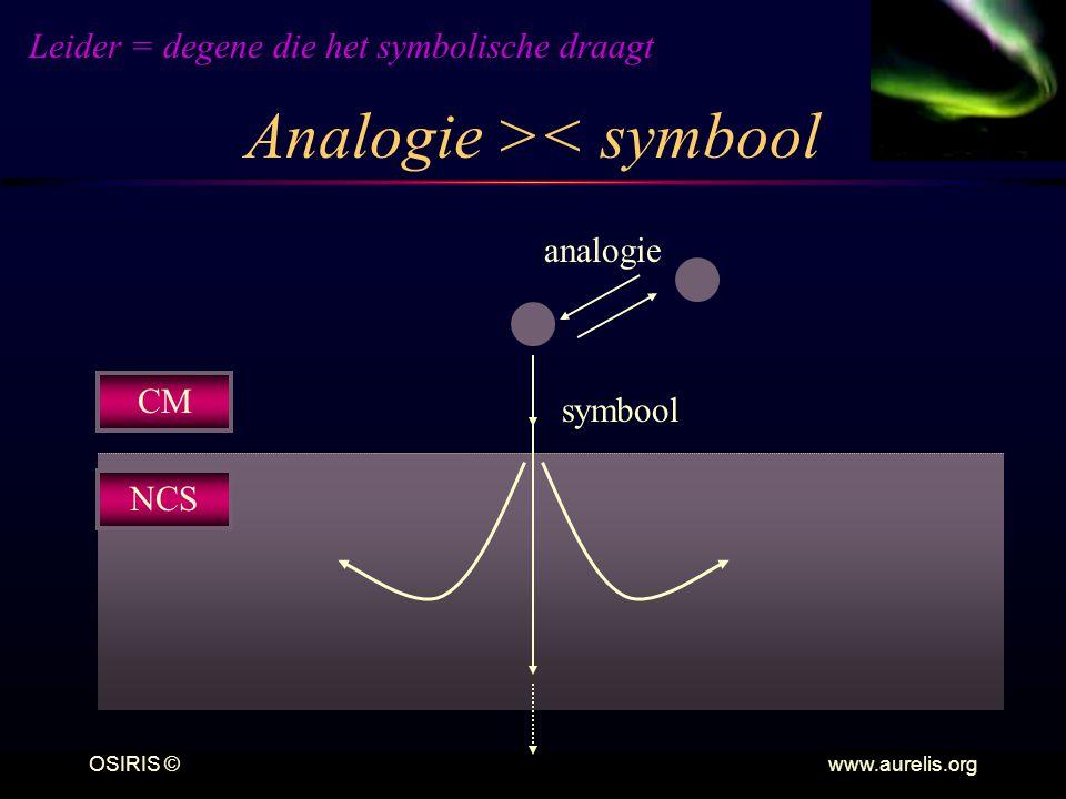 Analogie >< symbool