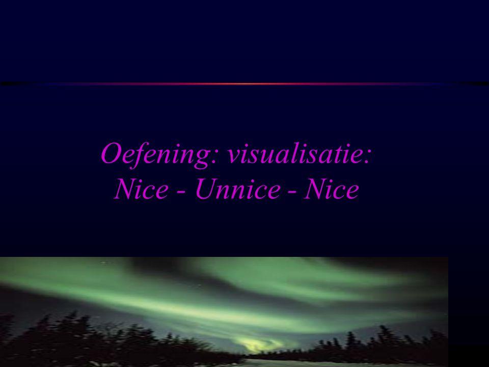 Oefening: visualisatie: Nice - Unnice - Nice
