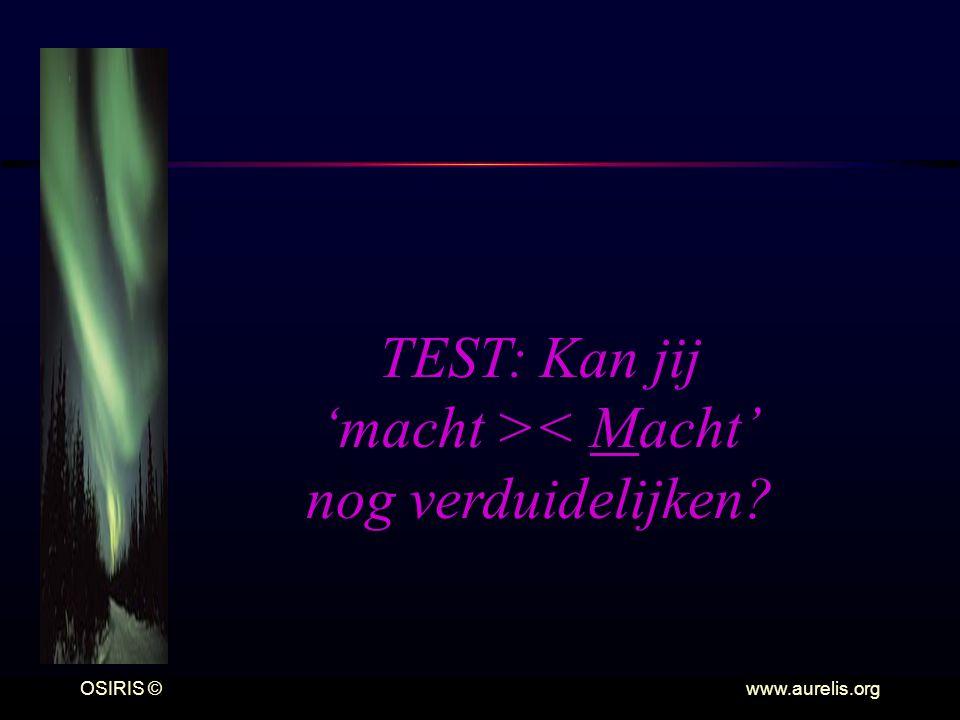 TEST: Kan jij 'macht >< Macht' nog verduidelijken