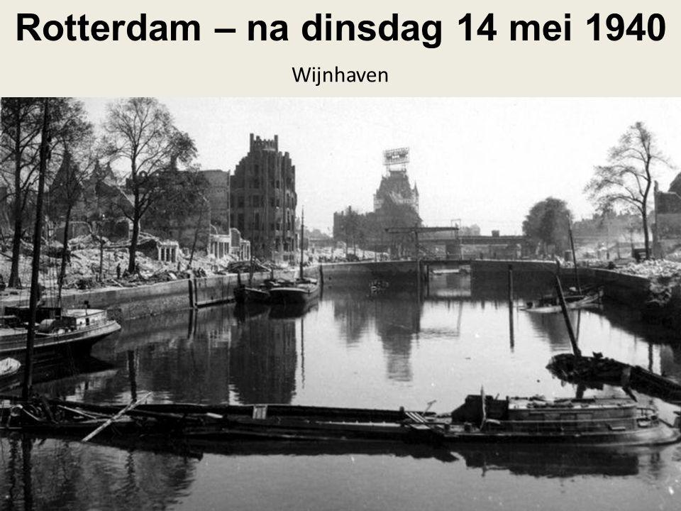 Rotterdam – na dinsdag 14 mei 1940