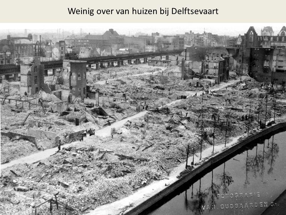 Weinig over van huizen bij Delftsevaart