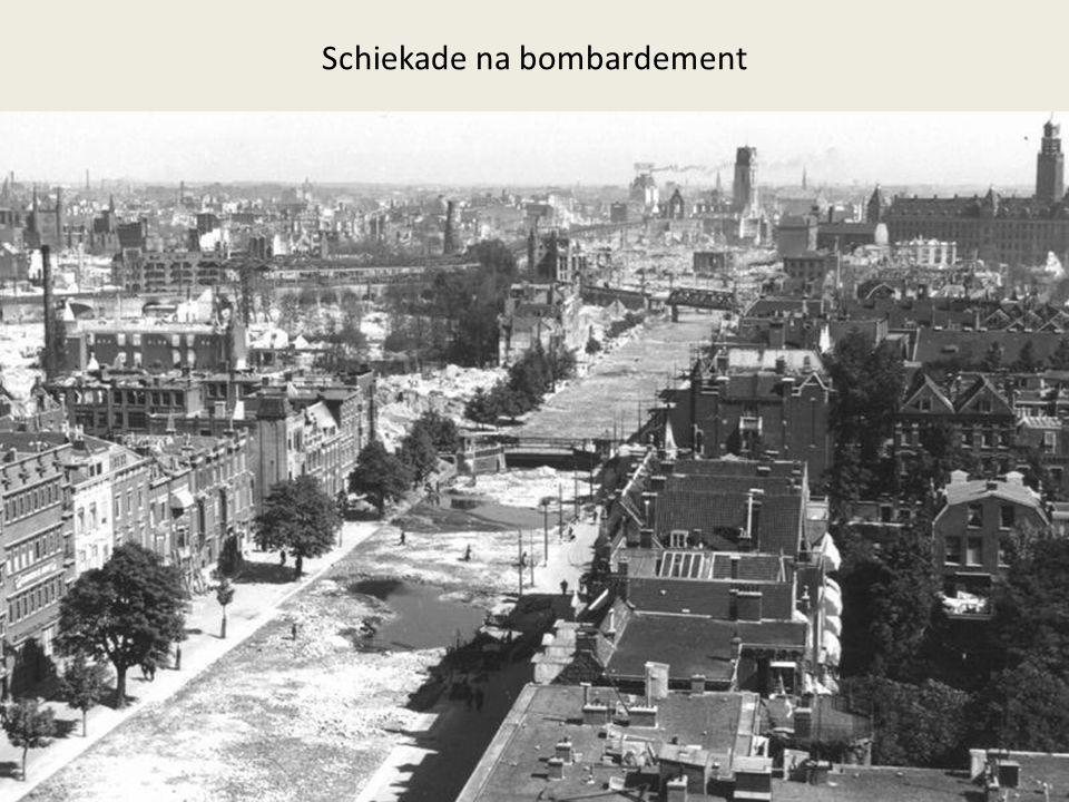 Schiekade na bombardement