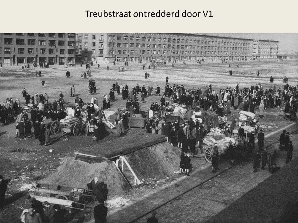 Treubstraat ontredderd door V1