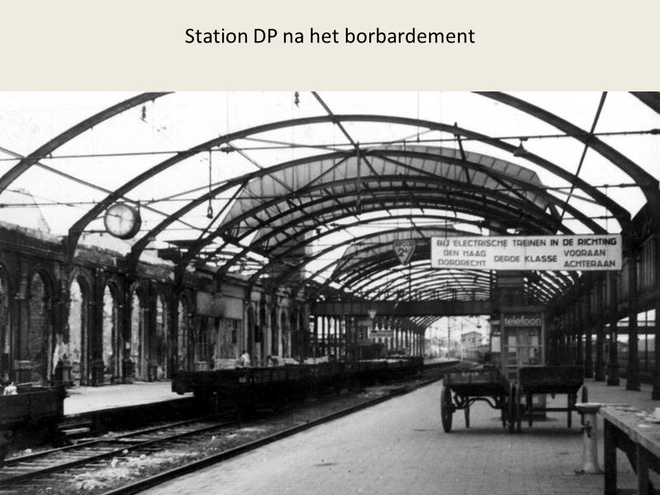 Station DP na het borbardement
