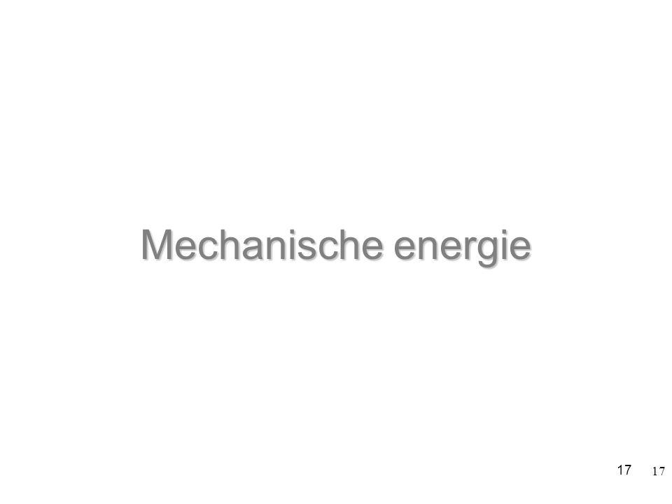 Mechanische energie 17