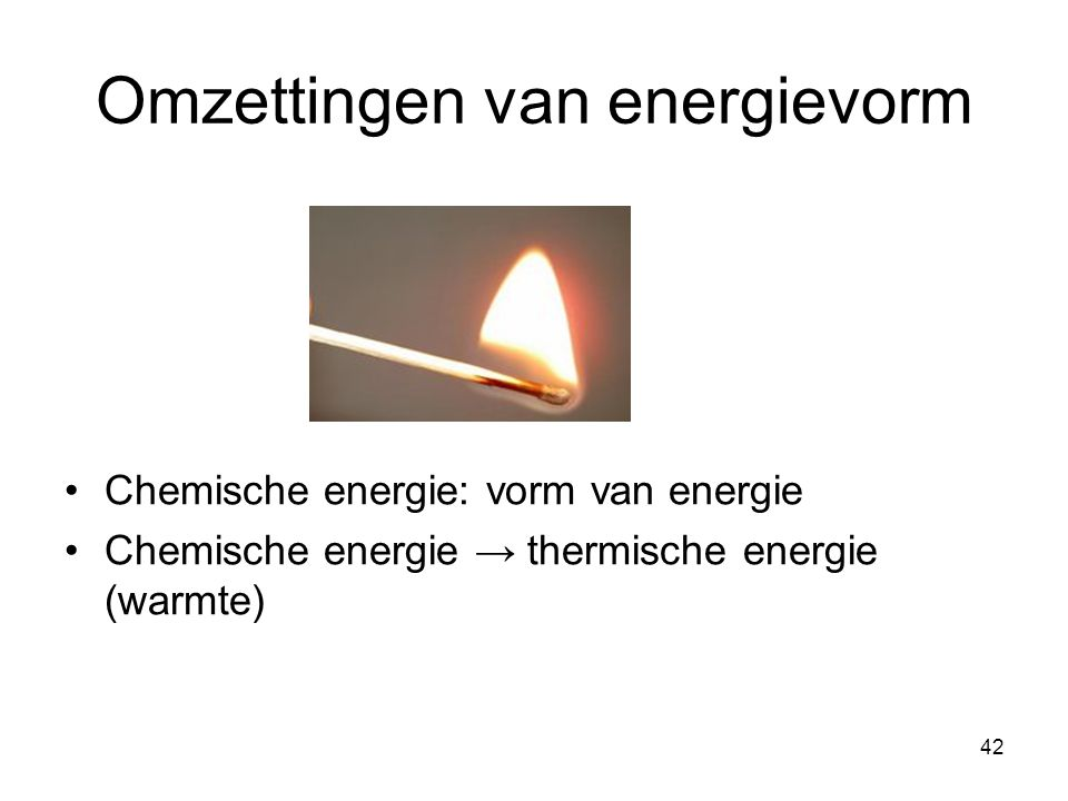 Omzettingen van energievorm