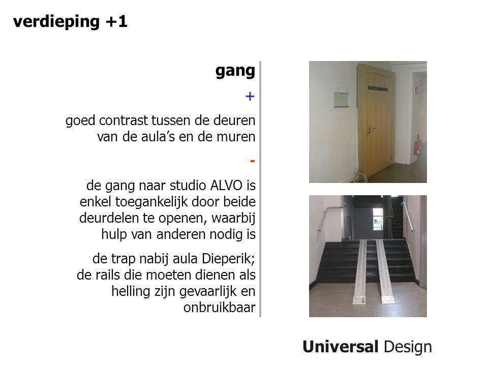 verdieping +1 gang Universal Design +