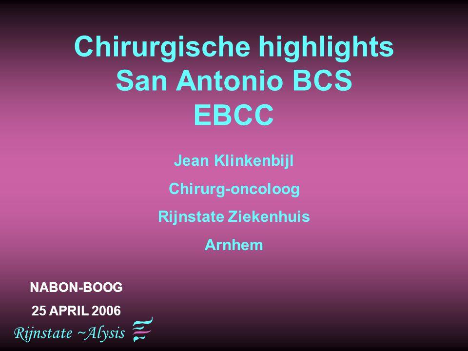Chirurgische highlights San Antonio BCS EBCC