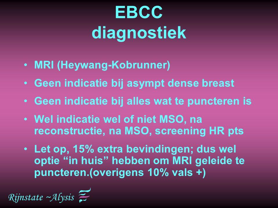 EBCC diagnostiek MRI (Heywang-Kobrunner)