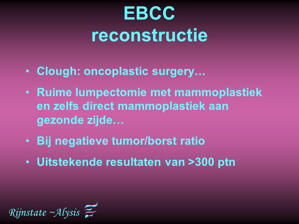 EBCC reconstructie Clough: oncoplastic surgery…