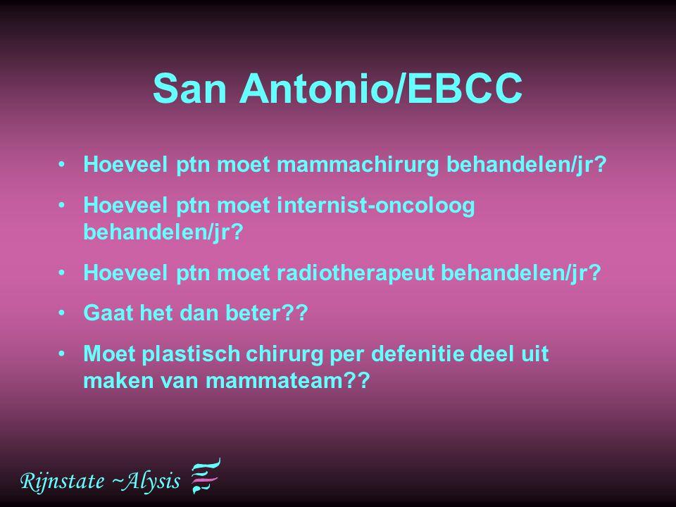 San Antonio/EBCC Rijnstate ~Alysis