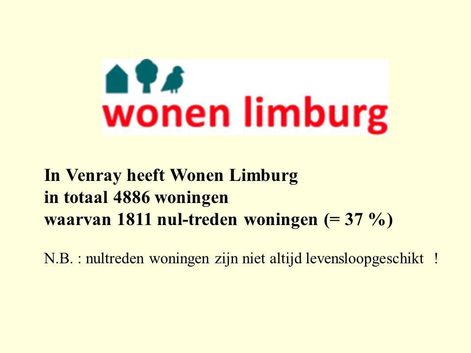 In Venray heeft Wonen Limburg in totaal 4886 woningen