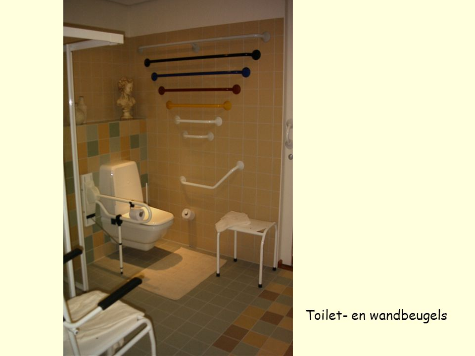 Toilet- en wandbeugels