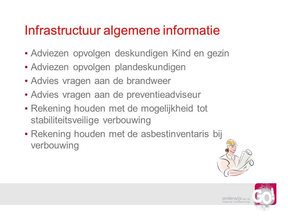 Infrastructuur algemene informatie