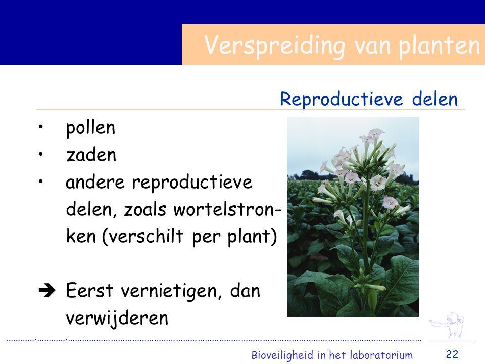 Verspreiding van planten