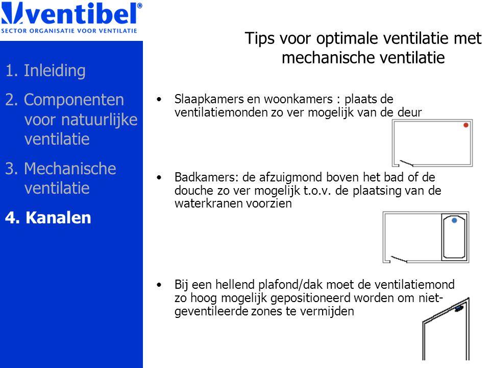 Tips voor optimale ventilatie met mechanische ventilatie