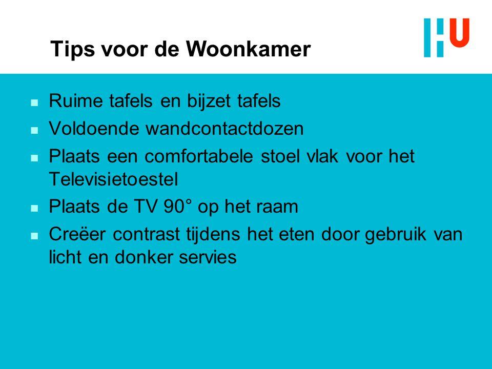 Tips voor de Woonkamer Ruime tafels en bijzet tafels