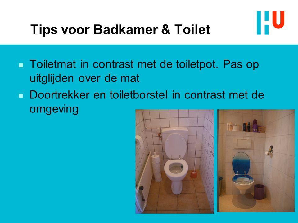Tips voor Badkamer & Toilet
