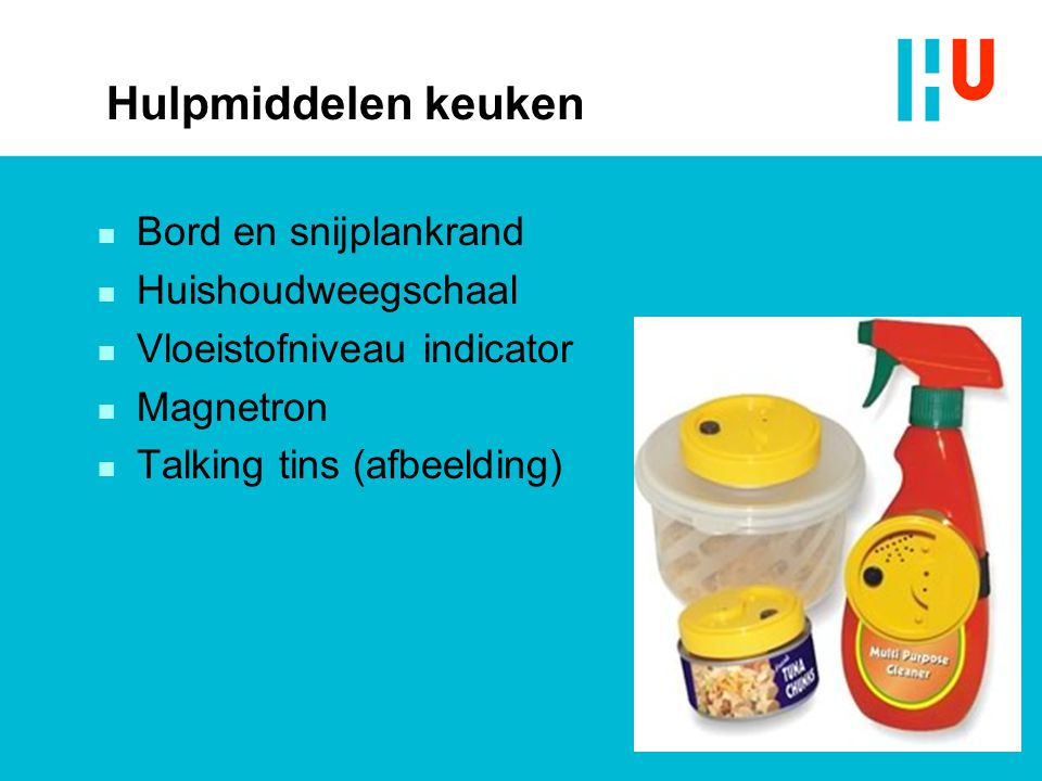 Hulpmiddelen keuken Bord en snijplankrand Huishoudweegschaal