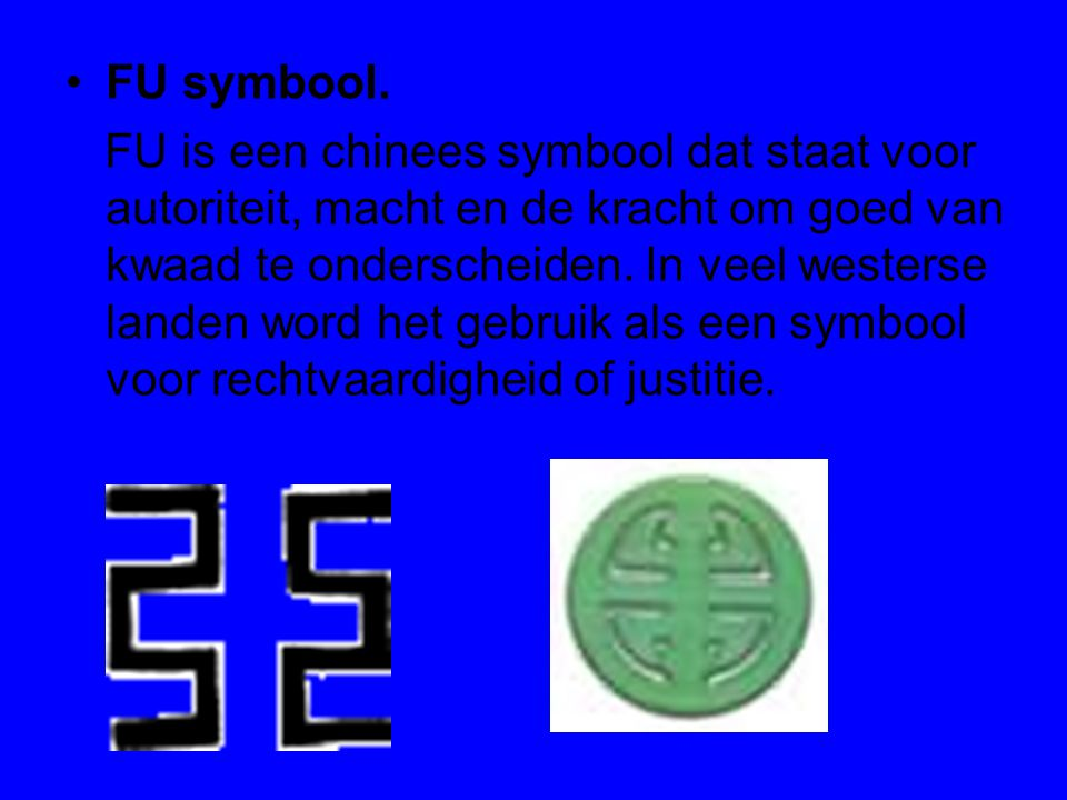 FU symbool.