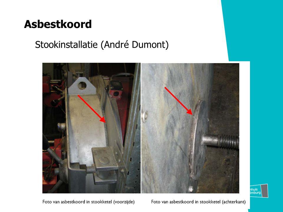 Asbestkoord Stookinstallatie (André Dumont)