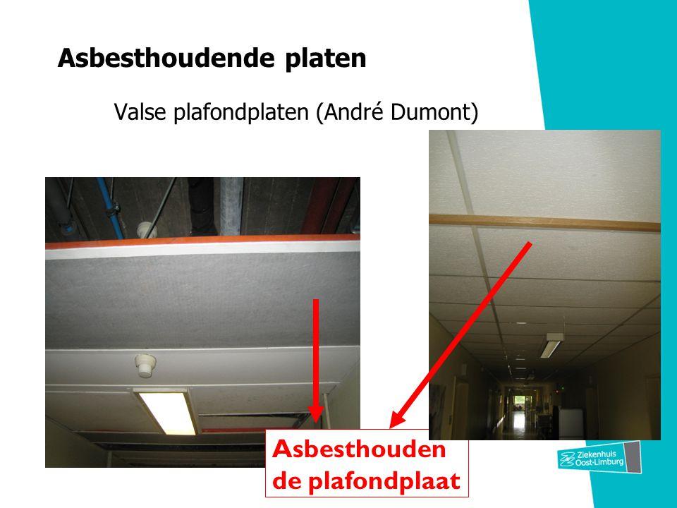 Asbesthoudende platen