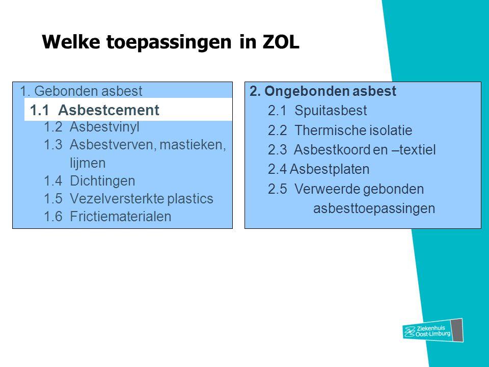 Welke toepassingen in ZOL