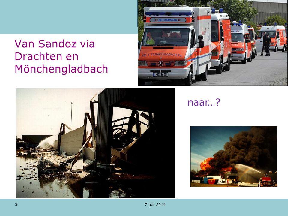 Van Sandoz via Drachten en Mönchengladbach