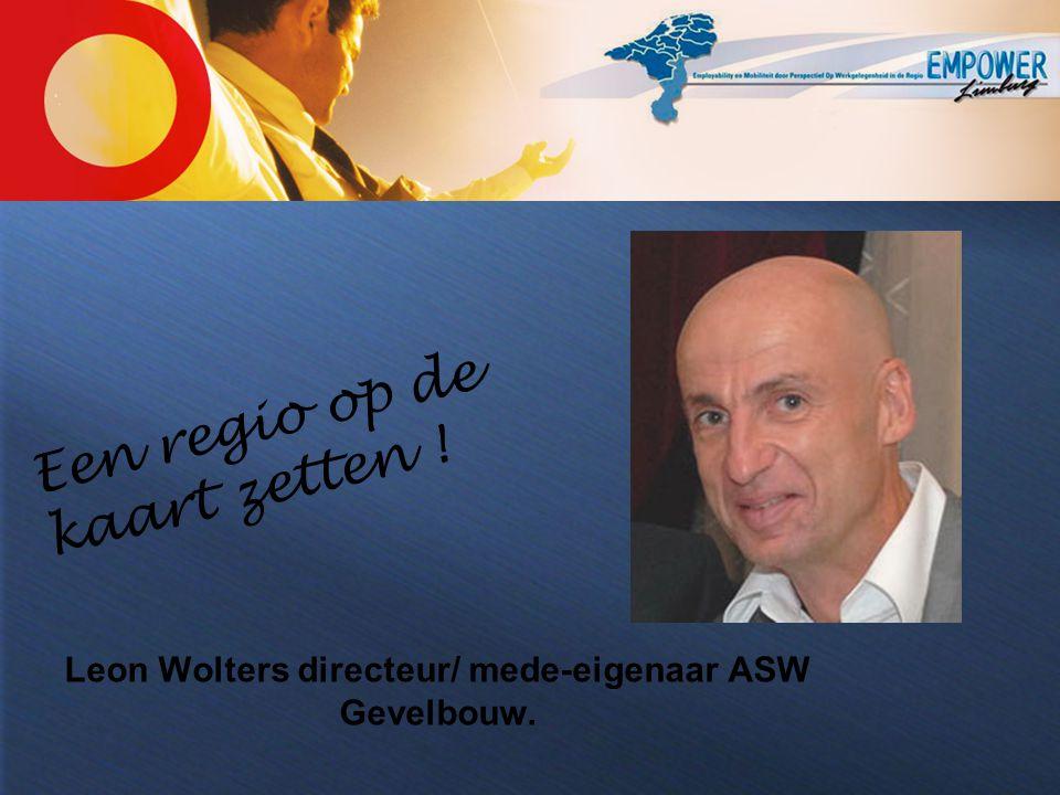 Leon Wolters directeur/ mede-eigenaar ASW Gevelbouw.