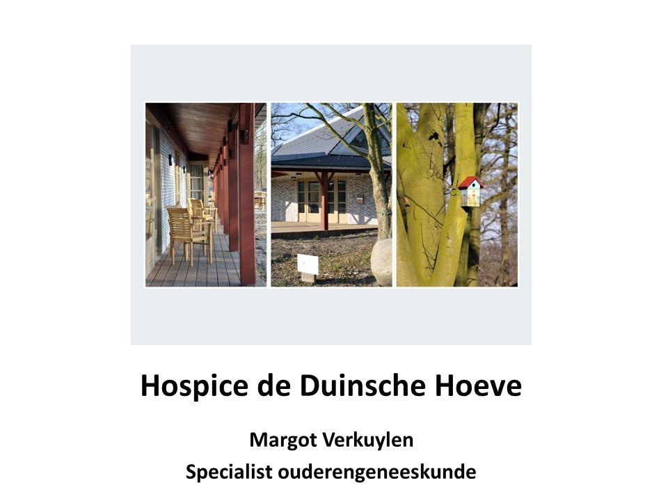 Hospice de Duinsche Hoeve Specialist ouderengeneeskunde