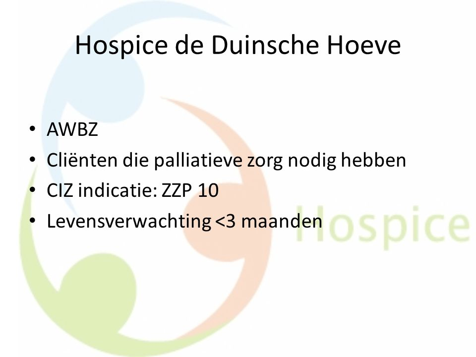 Hospice de Duinsche Hoeve