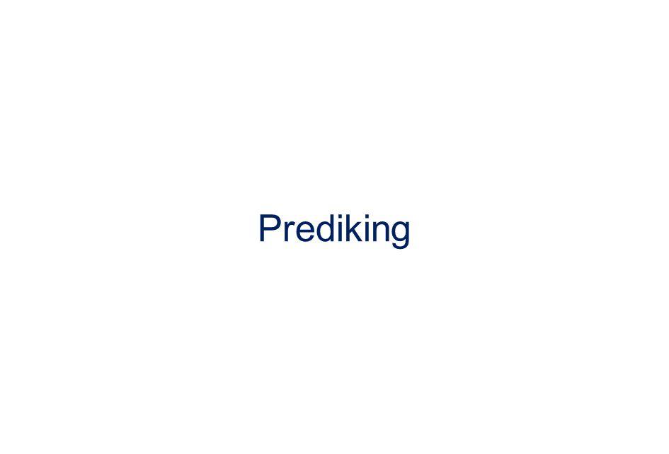 Prediking