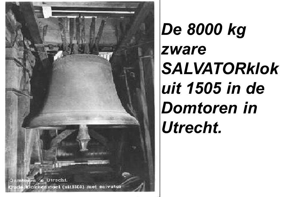 De 8000 kg zware SALVATORklok