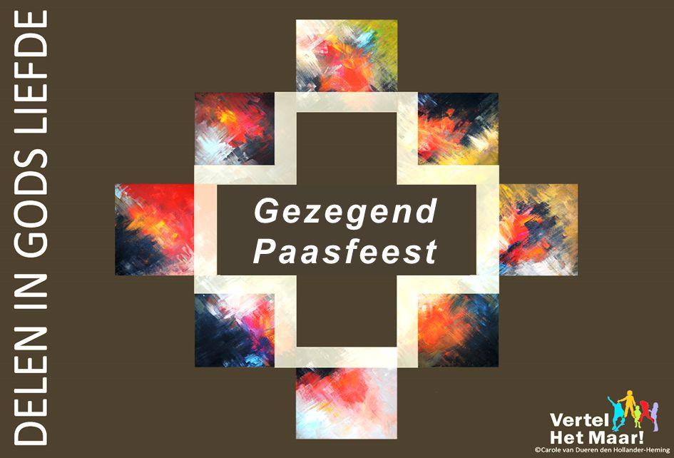 Gezegend Paasfeest SLOTDIA PAASPROJECT 2014: DELEN IN GODS LIEFDE