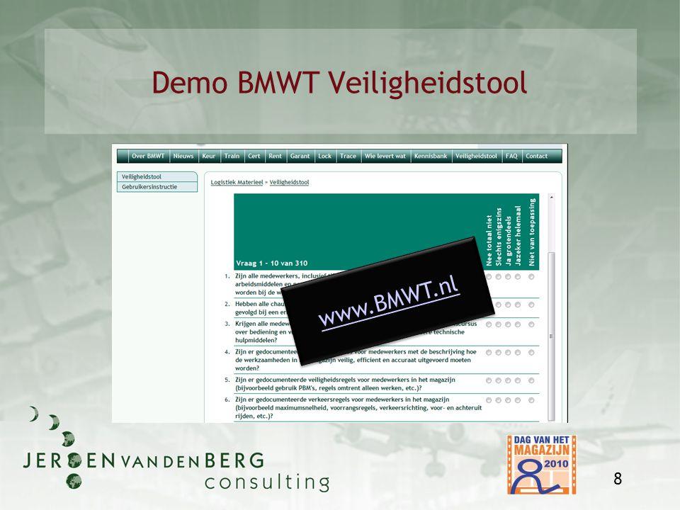 Demo BMWT Veiligheidstool