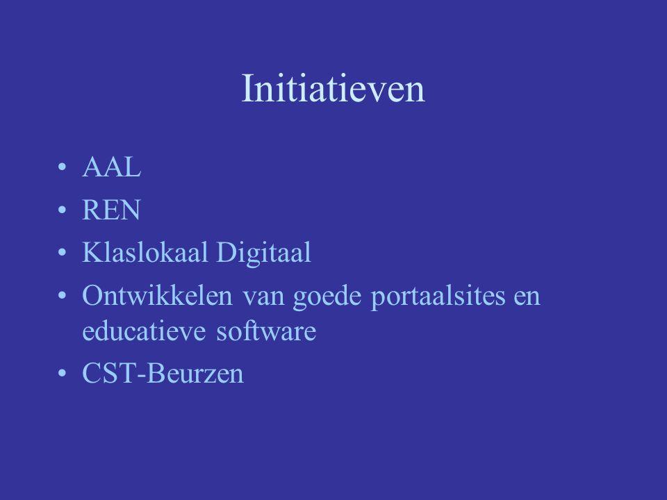 Initiatieven AAL REN Klaslokaal Digitaal