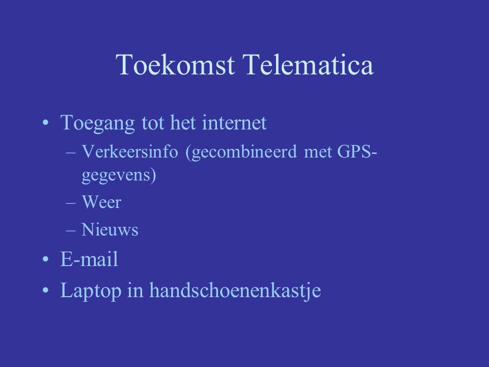 Toekomst Telematica Toegang tot het internet E-mail