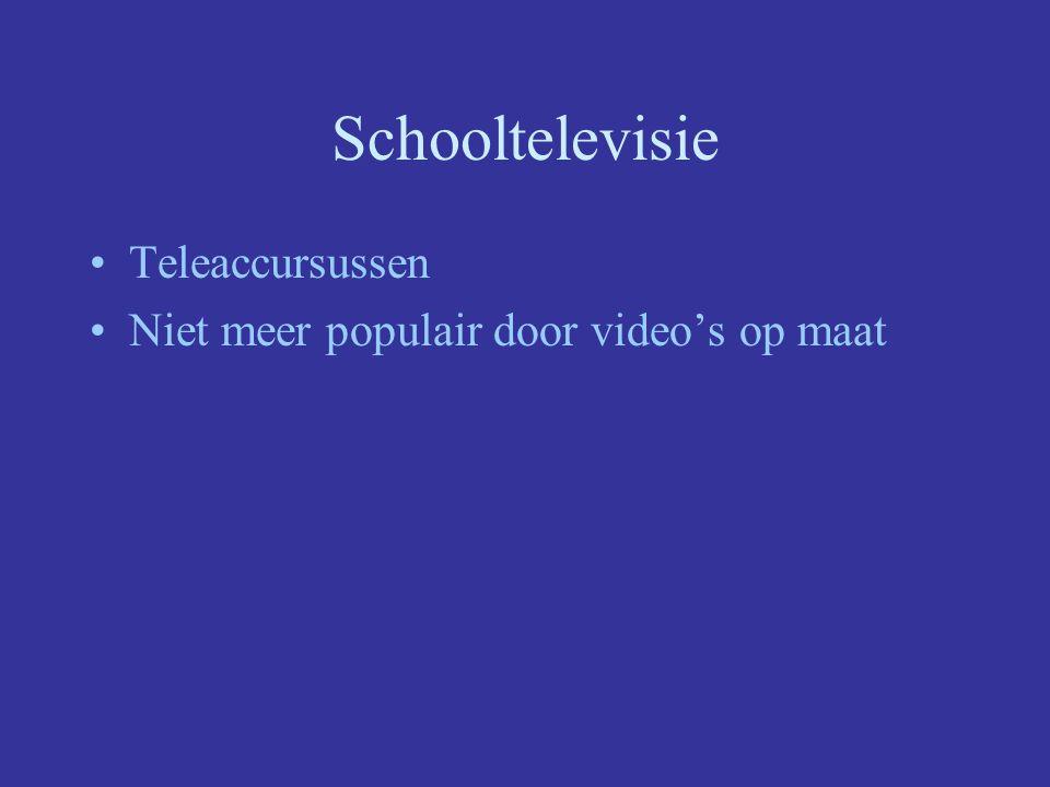 Schooltelevisie Teleaccursussen