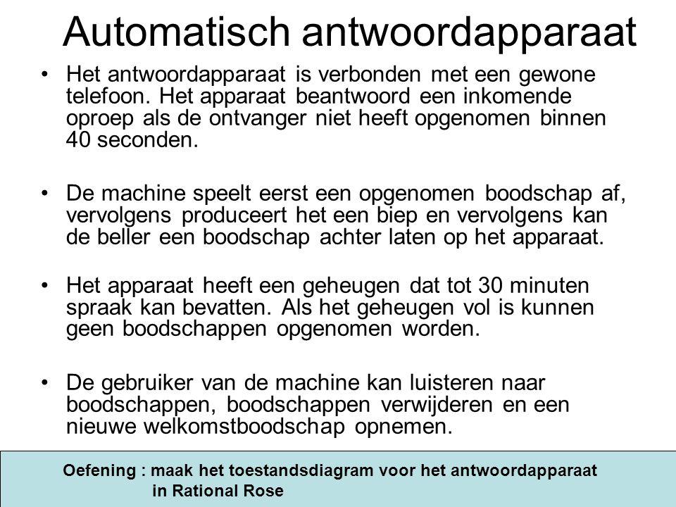 Automatisch antwoordapparaat