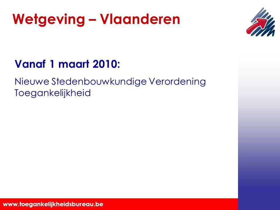 Wetgeving – Vlaanderen