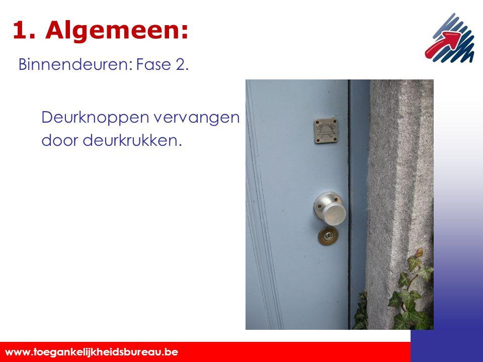 1. Algemeen: Binnendeuren: Fase 2.